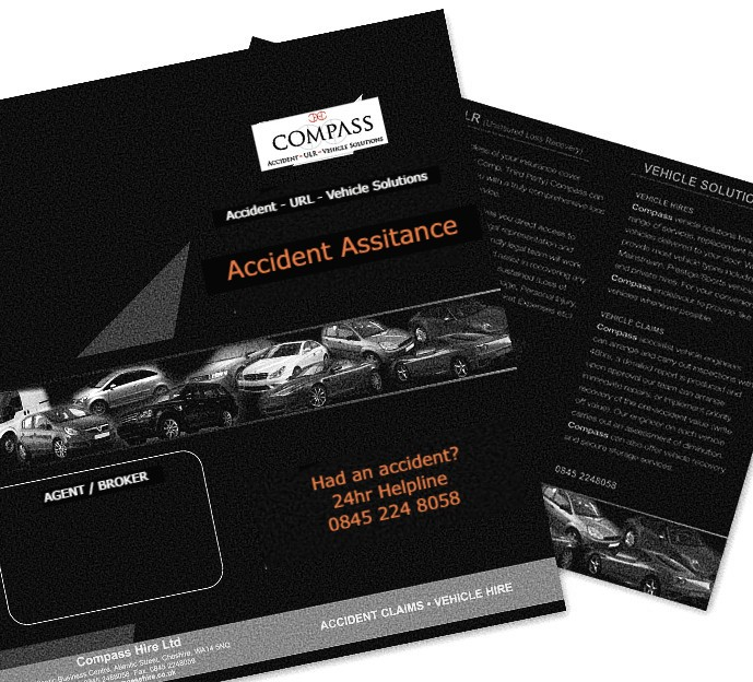 non fault accident car hire information