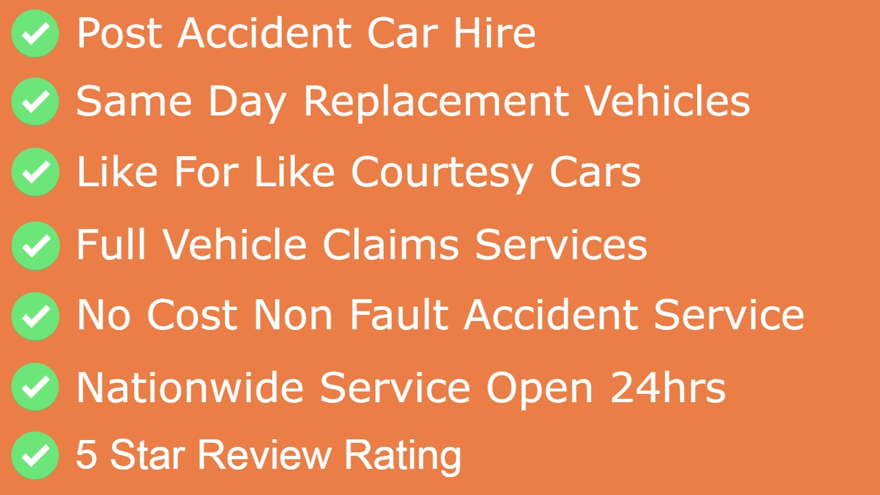 accident car hire