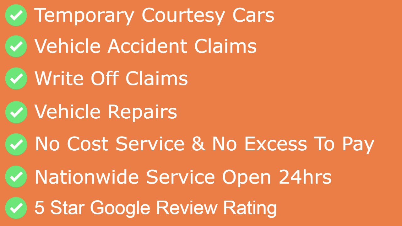 Temporary Car Hire And Claims After A Non Fault Car Accident