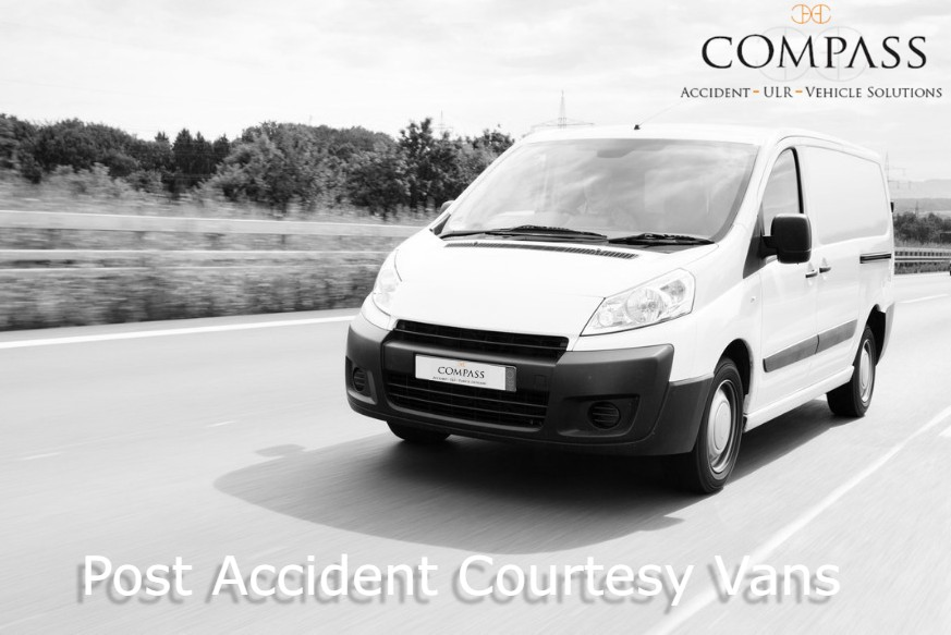 non fault accident van hire, courtesy van after an accident